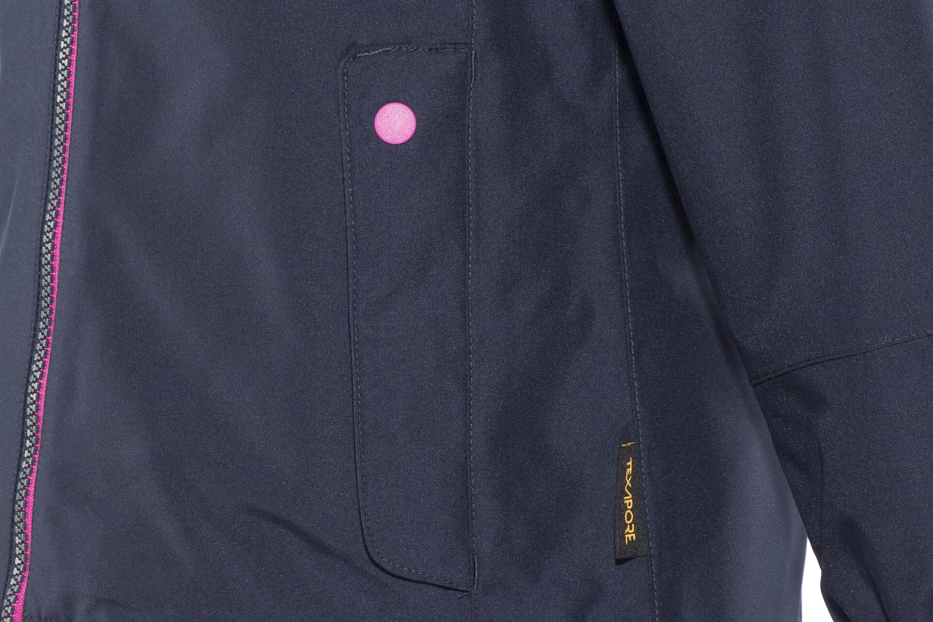 Jack Wolfskin B Iceland 3in1 Jacket Kinder midnight blue